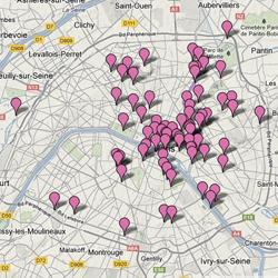 Découvrez la carte de La Campagne à Paris