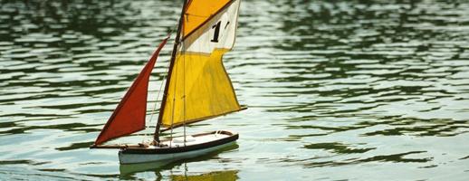 bateau jardin du luxembourg