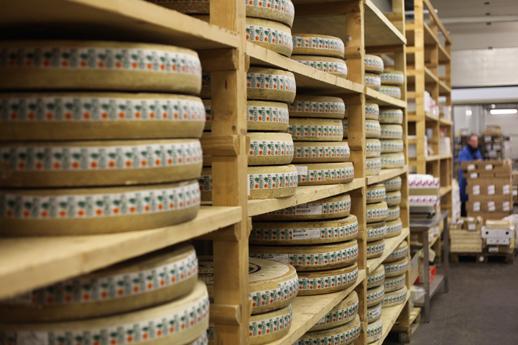 Roues de fromages