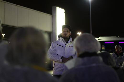 Visite de Rungis par Charlie Odin